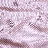Stoff Viskose Baumwolle Panama rosa Polsterstoff 40.000