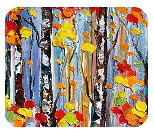 Design colorato Nature Lover Mousepad oil painting Tree Custom (227 Matt)