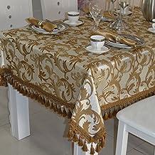 Continental minimalista mesa tela tela de lujo mantel con flecos de moda moderna mantel Tela para