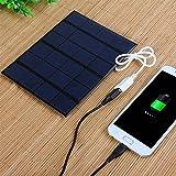 Generic Solar Panel Charger : Dual USB 5...