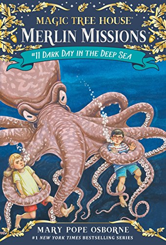 Dark Day in the Deep Sea (Magic Tree House (R) Merlin Mission, Band 11) Merlin Bis 10