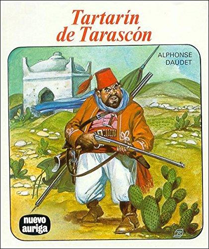 Portada del libro Tartarín de Tarascón (Nuevo Auriga)