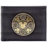 Kingdom Hearts Bronze Abzeichen Schwarz Portemonnaie Geldbörse
