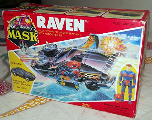 Raven MASK vehicle toy