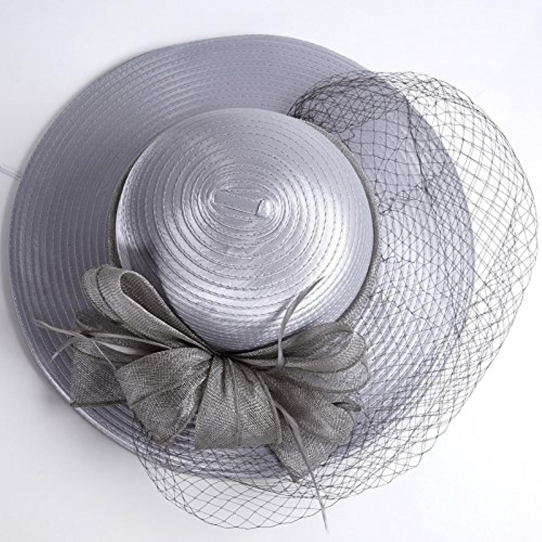 YMFIE Signore Sole Estivo Elegante Hat Elegante Estivo Cappello Outdoor  Resort Sun Casco Beach Hat 9684b2eeafad