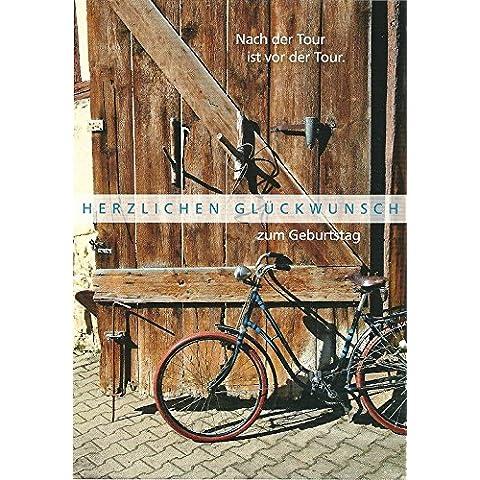 Biglietto d' auguri per compleanno ~ ~ dopo il Tour è prima della da bicicletta Tour