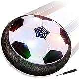Baztoy Balón Fútbol Flotant, Pelota Futbol con Protectores de Espuma Suave y Luces LED Balones Futbol Juguetes Niños 3 4 5 6