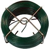 Connex Drahtspinne kunststoffummantelt, Grün, 1.4 mm x 50 m