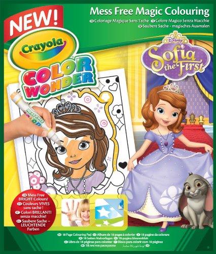Crayola Color Wonder - 75-2293-e-000 - Livre À Colorier - Album Sofia Disney