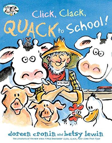 Click, Clack, Quack to School! (A Click Clack Book) (English Edition)
