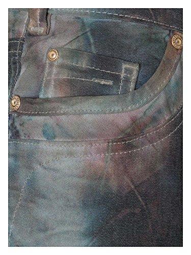 RECOVER pants Donne Jeans Slim Fit Grigio