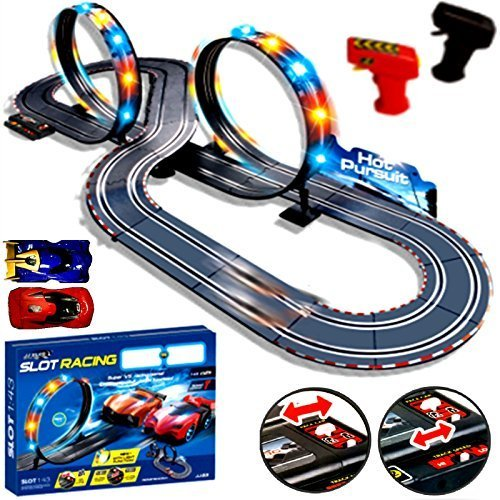 New-Large-Remote-Control-Light-Up-Slot-Car-Racing-track-Kids-Toy-Childrens-Game-Boys-Xmas-Gift