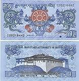 Mondiale Banconote da Collezione - Bank of Bhutan 1 Ngultrum banconote Crisp / 2013 / Bhutan/UNC