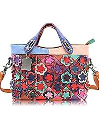 Handbag For Women DILER Women Top Handle Satchel Handbags Shoulder Bag Messenger Tote Bag Purse