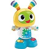 Fisher-Price Bebo le Robot Interactif Jouet d'Éveil avec 3 Modes de Jeu, Musique et Danse, Apprentissage, Enregistrement, pou