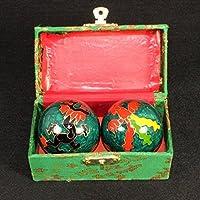 QTZS Chinesisches Traditionelles Gesundheitsball Cloisonne Dekompression Handball 50mm,B preisvergleich bei billige-tabletten.eu