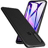 A-VIDET Hülle für Huawei P30 Lite,Ultradünnes Silikon Mattierte Softschale Rundumschutz Anti-Fall Anti-Fingerabdruck Gehäuse Einfache Rückenschutzhülle für Huawei P30 Lite (Schwarz)