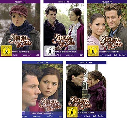 Sturm der Liebe - DVD Box 6-10: Folge 51-100 (15 DVDs)