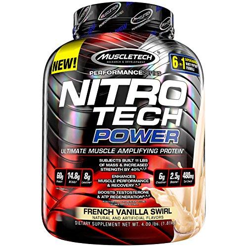 Muscletech Nitrotech Power Performance Series - 1.81 kg (French Vanilla Swirl)