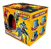 Uovissimo Justice League è l'unico uovo ricco di sorprese esclusive che renderanno felici tutti i bambini appassionati della Lega della Giustizia e di questi fantastici Super Eroi: Flash, Superman, Batman e Lanterna Verde! Troverai sempre un ...