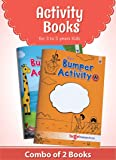 Blossom Bumper Activity Books for Kids in English | 3 to 5 Year Old Children | 110 Activities like Tracing, Colouring, Maze, Number Games, Word Formation, Spotting Difference and much more | Set of 2