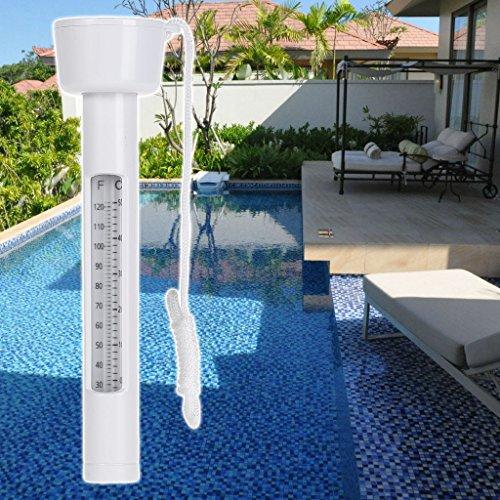 Cuigu Pool Thermometer, Schwimmendes Thermometer Für Schwimmbad Whirlpools Wassertemperatur Bad Whirlpool Aquarium