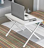 CLOTHES- Allungamento plastica Tavolo pieghevole a tavola ruvida Facile da portare a tavola Tavolo da tavolo da tavolo da tavolo da tavolo da tavolo Tavolo per la tavola piccola tavola da campeggio a tavola ( Colore : Bianca )