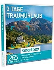 SMARTBOX - Geschenkbox - 3 TAGE TRAUMURLAUB - 265 Aufenthalte: 2 Übernachtungen mit Frühstück in 3* oder 4* Hotels
