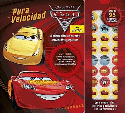 Cars 3. Pura velocidad: Mi primer lbro de cuentos, actividades y pegatinas (Disney. Cars 3)