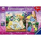Ravensburger - 09411 - Puzzle - Princesses Disney - Rêves de princesses - 3 x 49 Pièces
