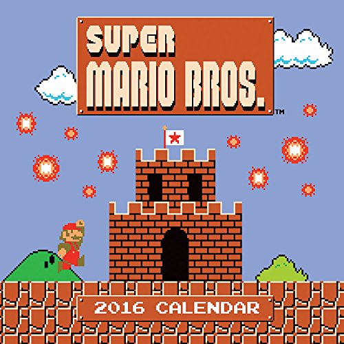 2016 - Super Mario Brothers 2016 Wall Calendar (Abrams Calendars)