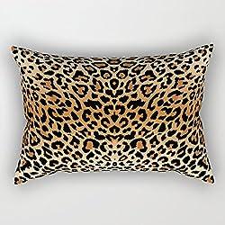 Leopardo patrón Rectángulo fundas de cojín 40x 60cm con cremallera decoración del hogar decorativo Cojín rectangular fundas de almohada