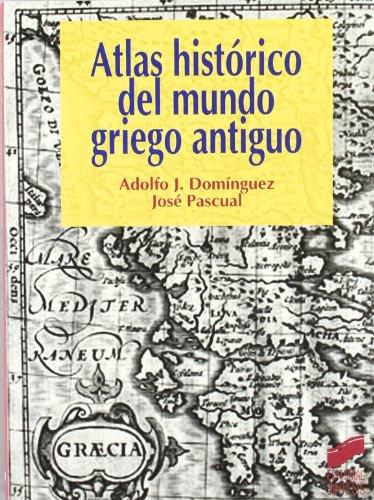 Portada del libro Atlas histórico del mundo griego antiguo (Atlas históricos)