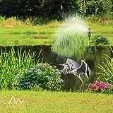 Gardigo Solar-Wasser-Tiervertreiber, Reiherschreck, Vogelscheuche, Hunde-Katzen-Tierschreck - 4