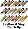 Leather & Vinyl Touch Up Scratch Repair Paint Dye Pen (Dark Brown)