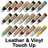 Leather & Vinyl Touch Up Scratch Repair Paint Dye Pen (Dark Brown)