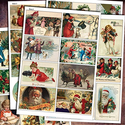traditional-vintage-christmas-decoupage-craft-scrapbooking-sheets-victorian-arts-and-craft-up-cyclin