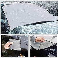 126cm f/ür SUV Truck FEZZ Auto Frontscheibe Windschutzscheibe Eisschutz Schneeabdeckung gegen Schnee EIS Frost Sonnen Magnetisch Gr/ö/ße 157