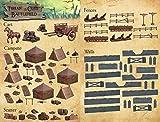 Mantic - KSTCD106 - Terrain Crate - Schlachtfeldkiste - Terrain Scenery für Tabletop 28mm Miniaturen Wargame