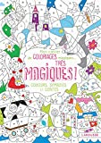 Mon cahier de coloriages magiques, très magiques - Couleurs, symboles et contes