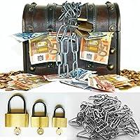 Preisvergleich für galleryy.net Hochzeitsspiel: Geldgeschenk Schatztruhe - Komplett-Set auch als Tanzspiel - Schatzkiste als Geldgeschenk.