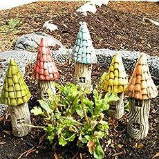 5 Keramik Beetstecker bunt beige Fr/ühlingsdeko Muttertag Blumentopf Blumenbeet
