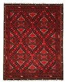 Nain Trading Khal Mohammadi 191x150 Orientteppich Teppich Rost/Lila Handgeknüpft Afghanistan