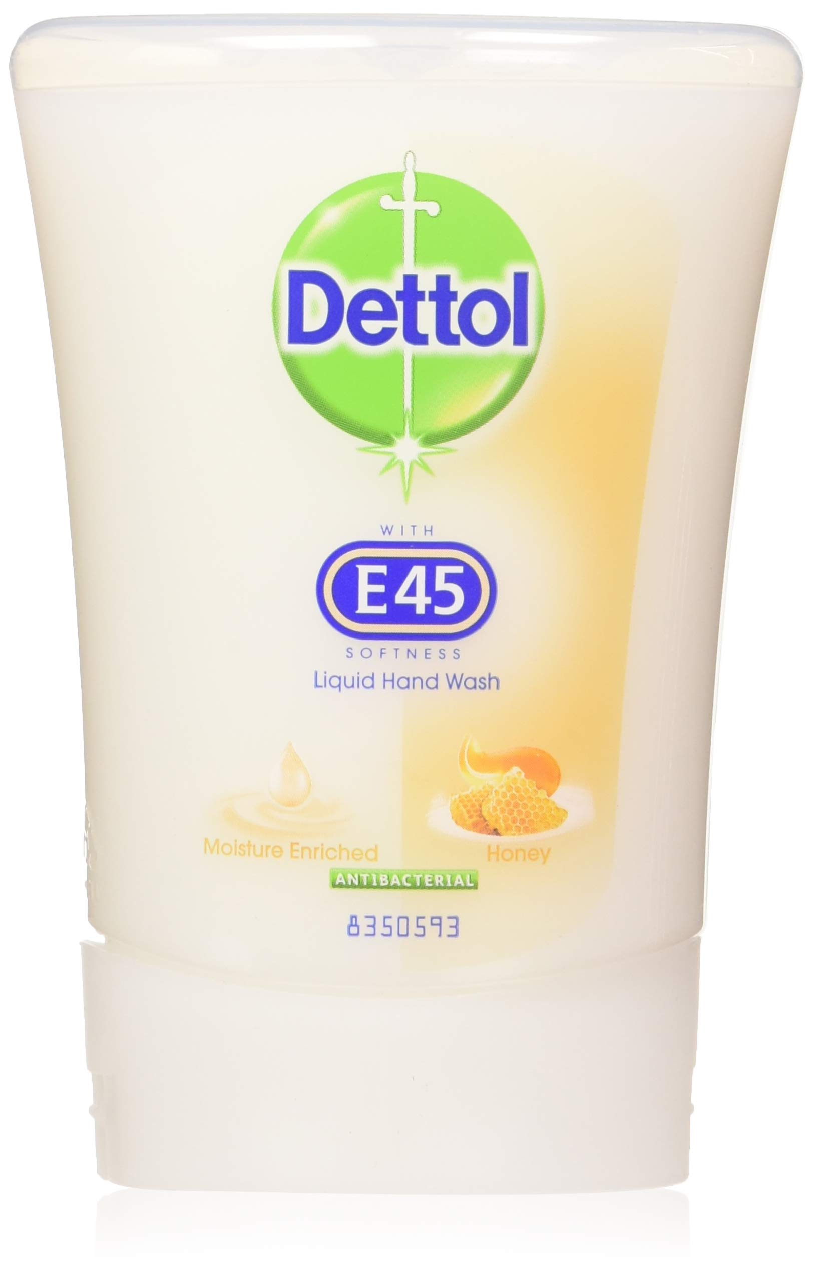 Dettol No-Touch Refill Hand Wash, Honey Nourishing, 250 ml,Pack of 5