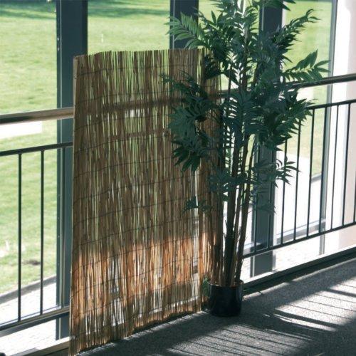 Sichtschutzmatte Schilfrohr, Schilfrohrmatte, Sichtschutz, ca. 120 x 600 cm