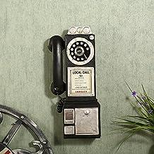 BEEST-¿El antiguo teléfono vintage adornos colgantes creative cafe restaurante tienda de decoración de pared,A,negro