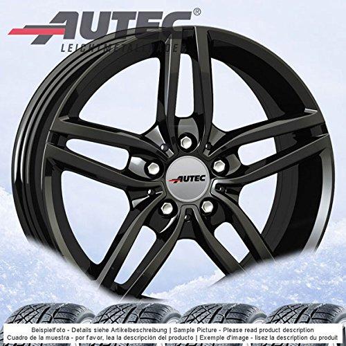 4-invierno-ruedas-autec-kitano-70jx16-et52-5-x-112-negro-con-205-60-r16-96h-xl-michelin-cross-climat