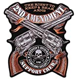 This patch has heat sealed backing for easy application. Patches come carded, ready to hang!