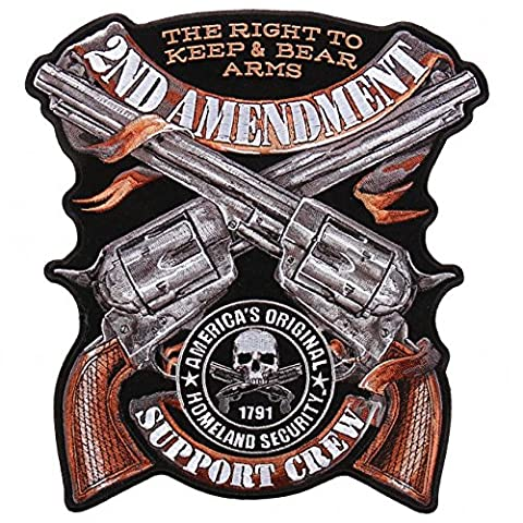 CROSSED PISTOLS, 2ND AMENDMENT, THE RIGHT TO KEEP & BEAR ARMS, AMERICA