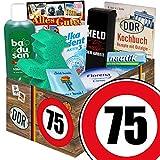 75. Geburtstag | Pflege Geschenk Set | mit Badusan, Florena und mehr | DDR Pflegebox
